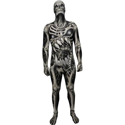 Kids Morphsuit Monster Collection Skull & Bones Halloween Costume