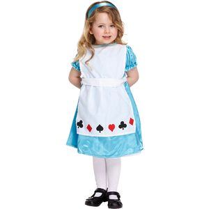 Childs Alice Costume Toddler Age up to 3 Years