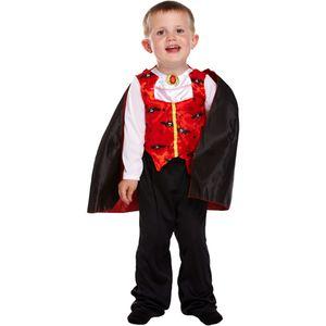 Childs Vampire Costume Toddler Age 3 Years