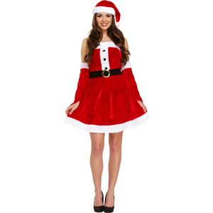 Sexy Miss Santa Costume Size 10-14