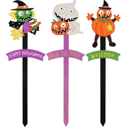 Ghost Yard Stick Fancy Dress Prop Party Accessory