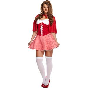 Sexy Little Miss Riding Hood Costume Size 12-14