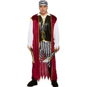 Pirate Man Plus Size Costume Size XXL