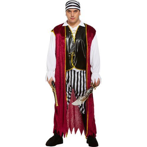 Pirate Man Fancy Dress Costume Size XXL Plus Size Costume