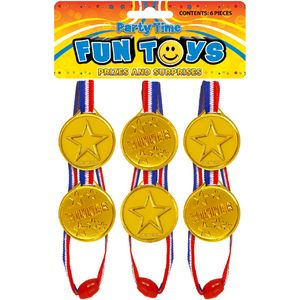6 X Gold Medal Winner Pack