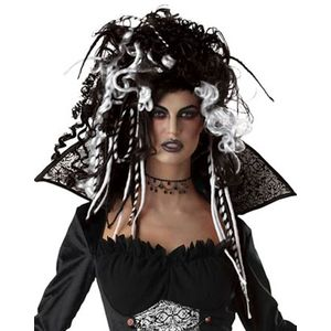 Eternal Seductress Wig (Black & White)