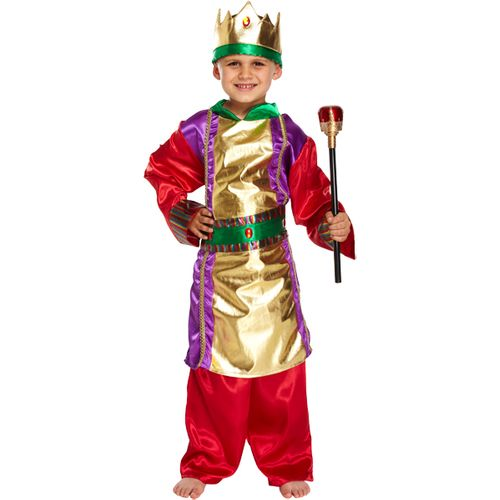 Three Kings Nativity Xmas Christmas Play Fancy Dress Kids Costume
