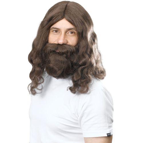 Jesus / Hippy Wig & Beard Set