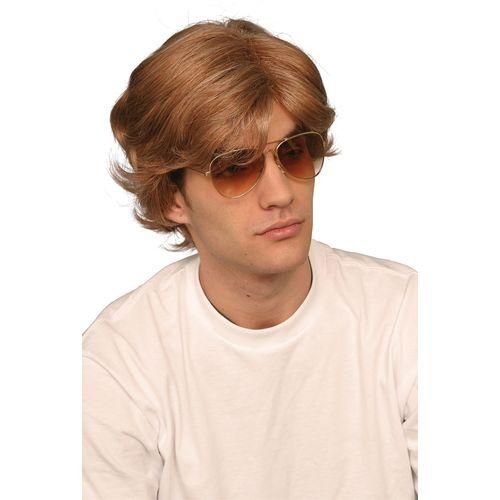 George Michael 80`s Wig Fancy Dress Accessory 1980