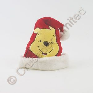 Childs Disney Winnie The Pooh Novelty Christmas Hat