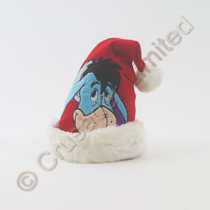 Childs Disney Eeyore Novelty Christmas Hat