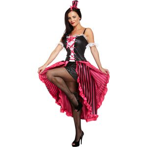 Sexy Can Can Lady Costume Size 12 - 14