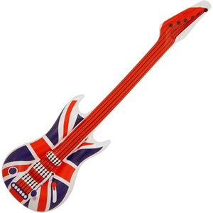 Inflatable Guitar Approx 106cm (Union Jack Print)