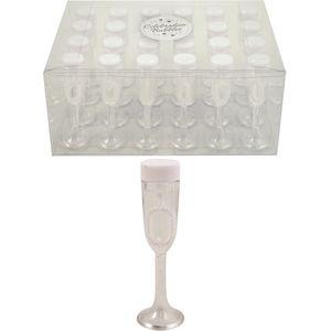 Champagne Glass Celebration Bubbles 24 Pack