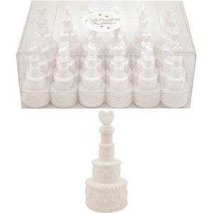 Wedding Cake Celebration Bubbles 24 Pack
