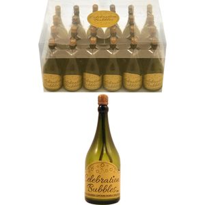 Champagne Bottle Celebration Bubbles 24 Pack