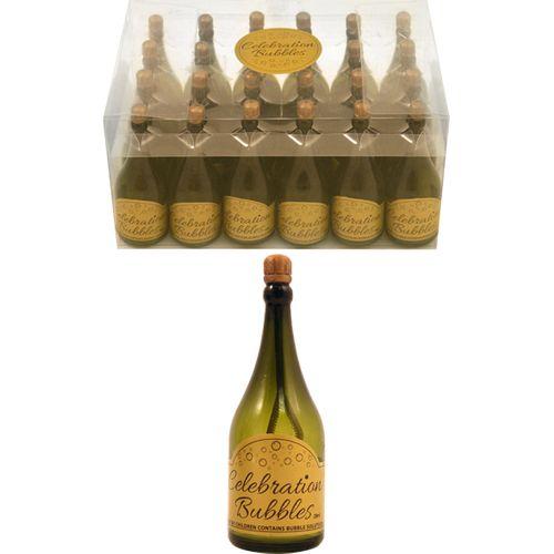 Champagne Bottle Celebration Bubbles 24 Pack Table Decoration