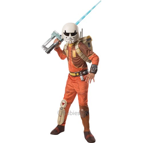 Star Wars Rebels Ezra Deluxe Star Wars Fancy Dress Costume Outfit