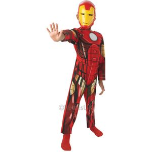 Childs Classic Ironman Costume Age 7-8 Years