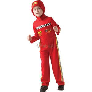 Childs Lightning McQueen Cars Costume Age 7-8 Years