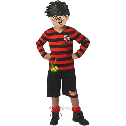 Childs Dennis The Menace Fancy Dress Costume Age 5-6 Years