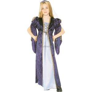 Childs Medieval Juliet Costume (Blue) Age 5-7 Years