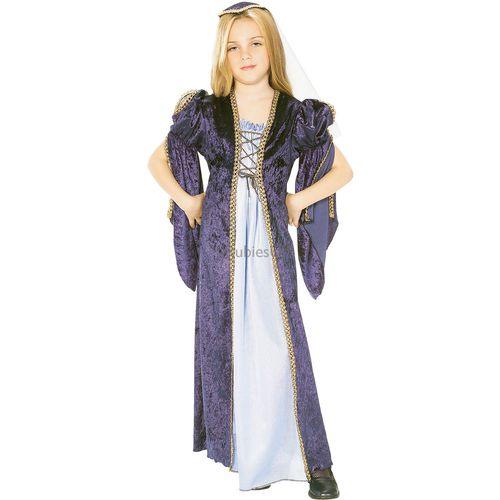 Medieval Juliet 5 - 7 Years Kids Fancy Dress Costume Outfit Medium School Histroical Book Week