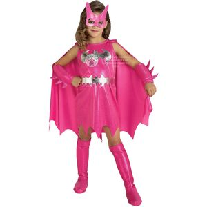 Childs Pink Batgirl Costume Age 3-4 Years