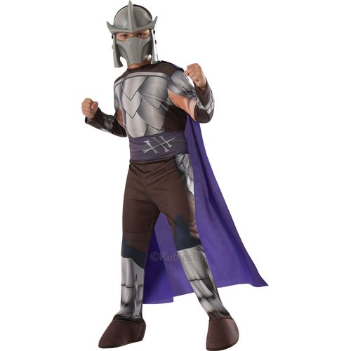 TMNT Shredder Teenage Mutant Ninja Turtles Costume Outfit 3 - 4 Years Kids Child Fancy Dress Outfit