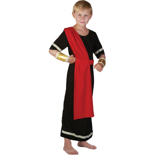 Black Roman Caeser Fancy Dress Costume Book Week Historical Outfit