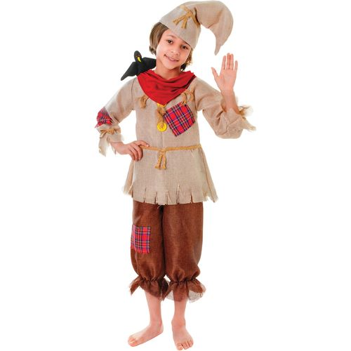Wizard Of Oz Scarecrow Book Week Boys Unisex Fancy Dress Costume Outfit