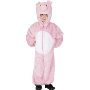Childs Pig Animal Onesie Costume Age 4-6 Years