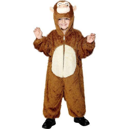 Childs Monkey Onesie Costume Fancy Dress Outfit Boys Kids Girls Unisex Book Week