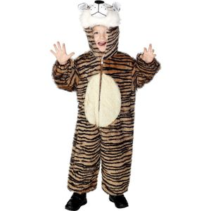 Childs Tiger Animal Onesie Costume Age 4-6 Years