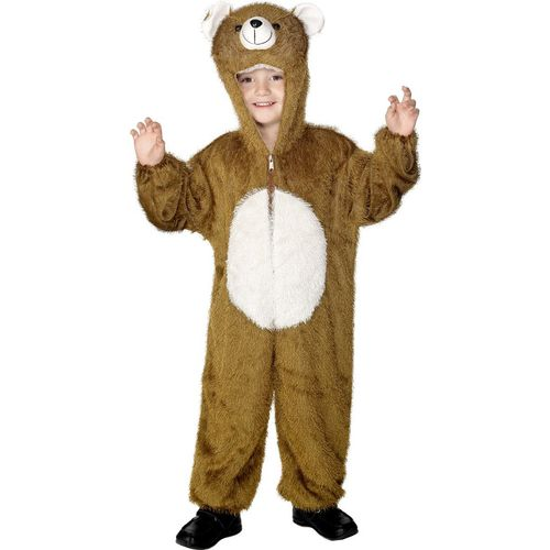Childs Bear Animal Onesie Fancy Dress Costume Age 4-6 Years
