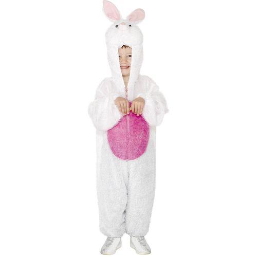 Childs Bunny Animal Onesie Fancy Dress Costume Age 4-6 Years