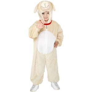 Childs Lamb Animal Onesie Costume Age 7-9 Years