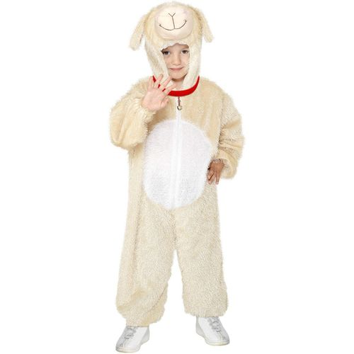 Childs Lamb Animal Onesie Fancy Dress Costume Age 7-9 Years