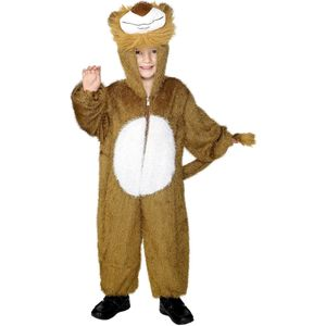 Childs Lion Animal Onesie Costume Age 7-9 Years
