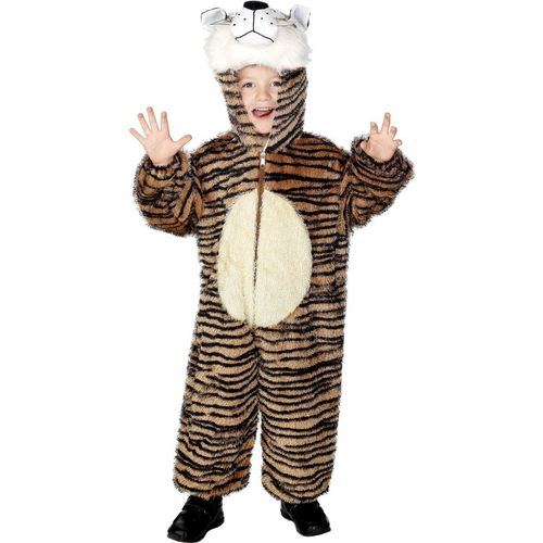 Childs Tiger Animal Onesie Fancy Dress Costume Age 7-9 Years