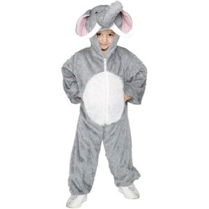 Childs Elephant Animal Onesie Costume Age 7-9 Years
