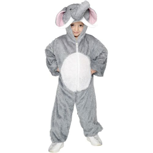 Childs Elephant Animal Onesie Fancy Dress Costume Age 7-9 Years