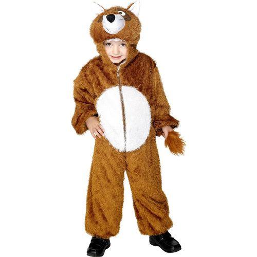 Childs Fox Animal Onesie Fancy Dress Costume Age 7-9 Years