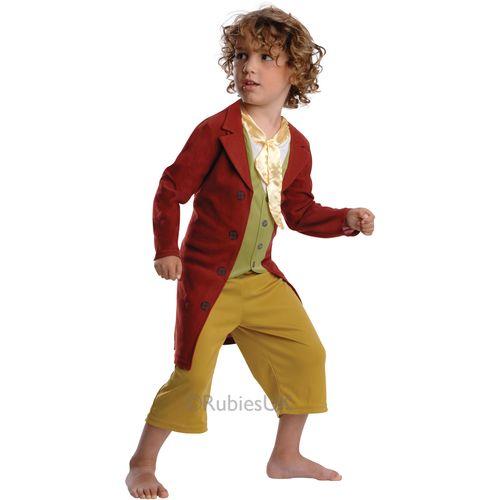 Bilbo Baggins The Hobbit Fancy Dress Costume Outfit Kids Book Week