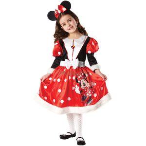 Childs Minnie Mouse Wonderland Disney Costume Age 7-8