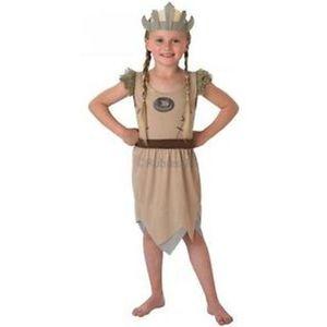 Childs Viking Girl Costume Age 3-4 Years