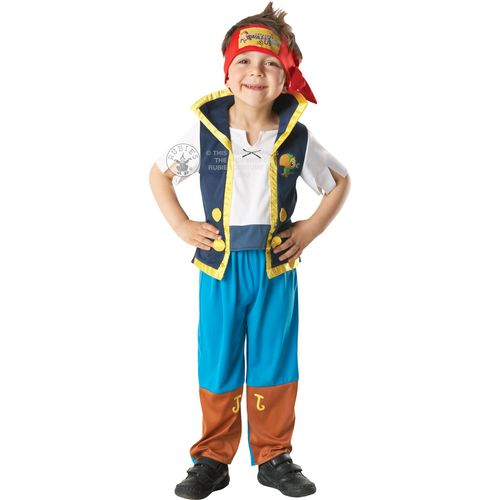 Jake & The Neverland Pirates 5 - 6  Years Fancy Dress Outfit Costume Kids Childrens