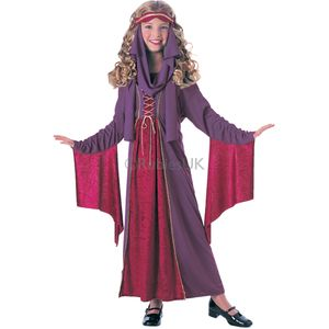 Childs Gothic Medieval Princess Costume Age 3-4 Years
