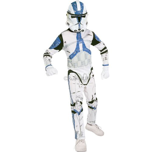 Star Wars Clone Trooper Star Wars 8-10 Years Kids Fancy Dress Costume Outfit