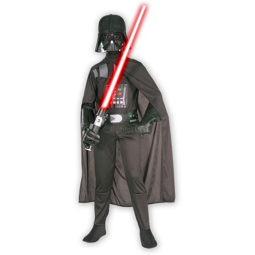 Star Wars Darth Vader Fancy Dress Outfit Costume Dress Up Kids